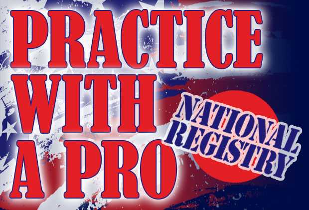 practice with a pro national registry